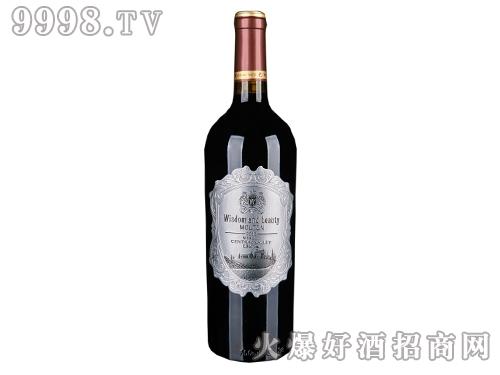 智然美389赤霞珠珍藏红葡萄酒