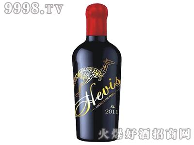 海维斯金袋鼠红葡萄酒5L