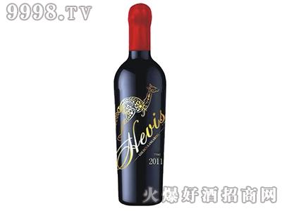 海维斯金袋鼠红葡萄酒