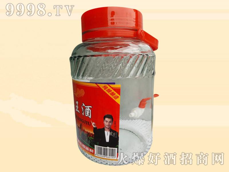 玄武门高粱王酒玻璃桶4升5升50度(带嘴)