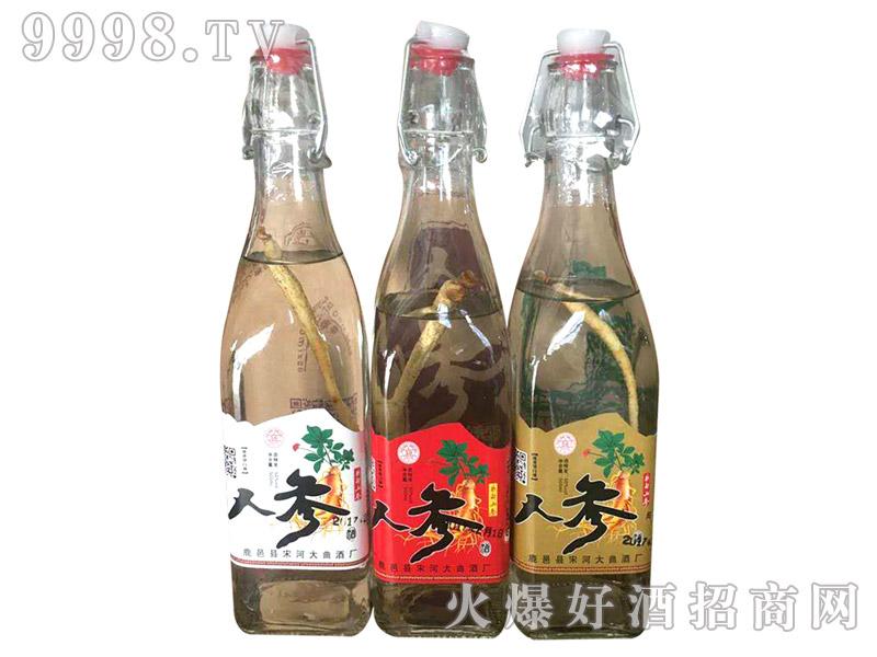宋河大曲人参酒