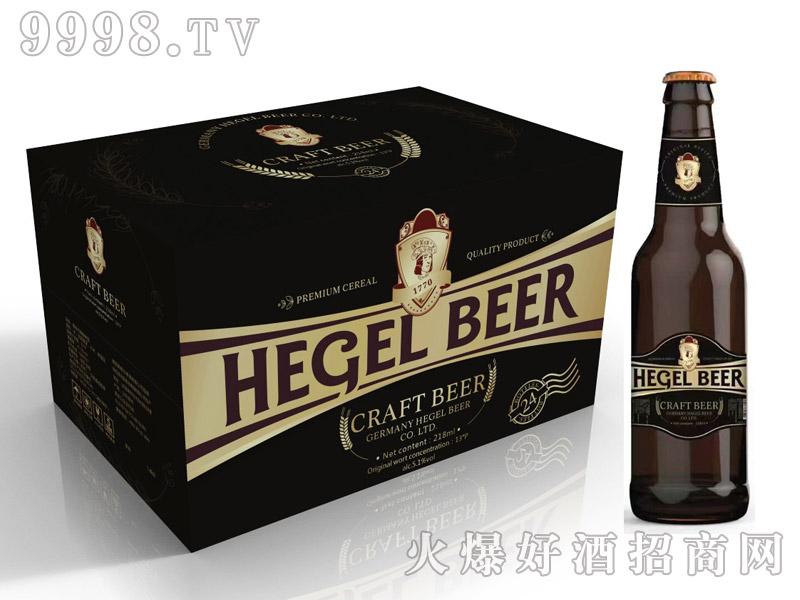 黑格尔啤酒黑啤218ml×24瓶