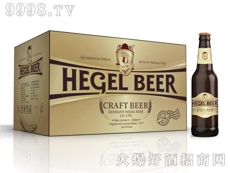 黑格尔啤酒白啤218ml×24瓶