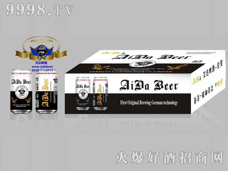 艾达啤酒11度330ml罐箱