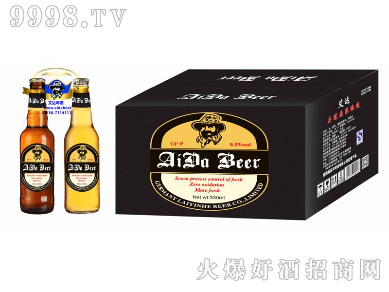 艾达啤酒13度330ml箱装