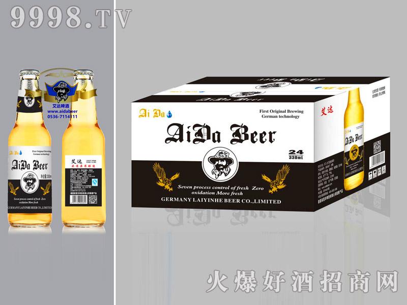 艾达啤酒12度澳麦黑标330ml箱装