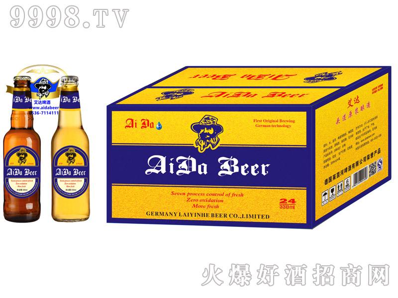 艾达啤酒12度330ml箱装