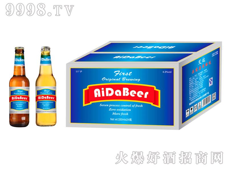 艾达啤酒11度330ml箱装