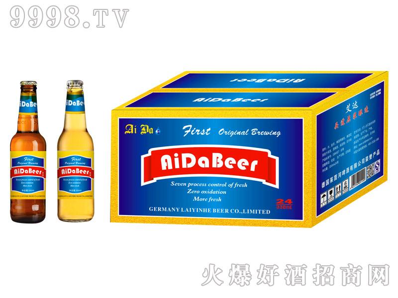 艾达啤酒8度330ml箱装