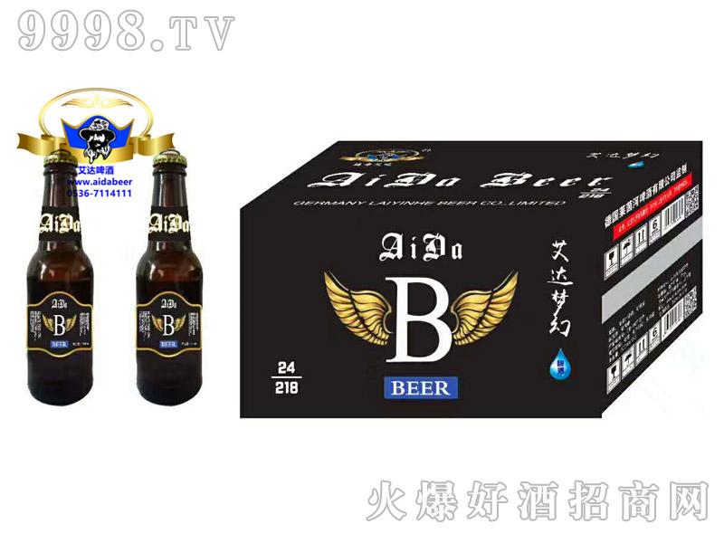 艾达梦幻精酿啤酒218ml