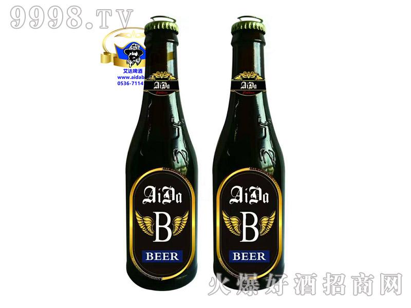 艾达精品原浆黑啤330-500ml箱装