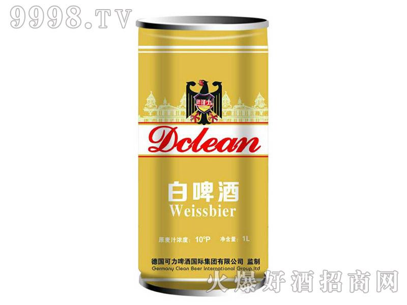 德可力白啤酒10度1L