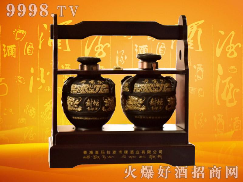 丹噶尔封坛青稞酒53度1000mlx2瓶