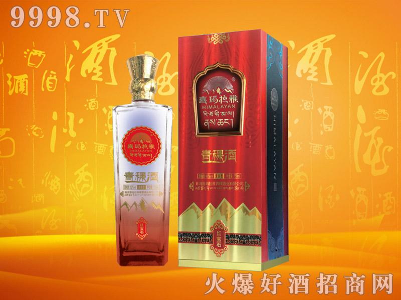 喜马拉雅青稞酒红宝石46度750mlx6瓶