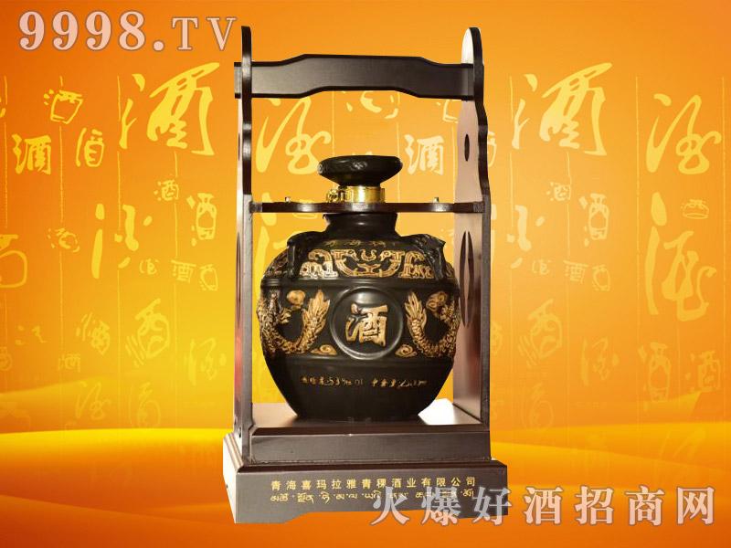 丹噶尔封坛青稞酒53度2500mlx2瓶