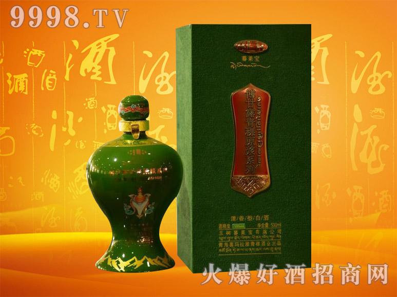 博甘露青稞原浆酒(绿盒)