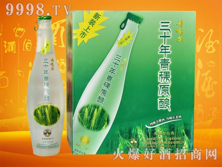 丹噶尔青稞原浆酒30(新装)46度450mlx6瓶