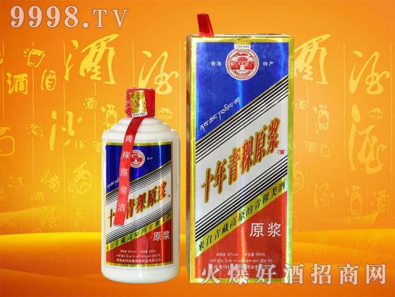 丹噶尔青稞原浆酒42度500mlx6瓶