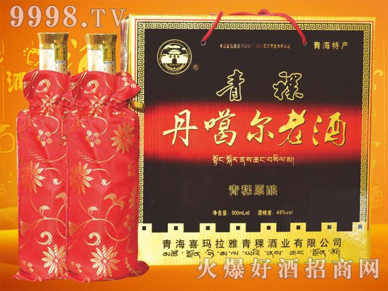 丹噶尔青稞原浆酒46度500mlx6