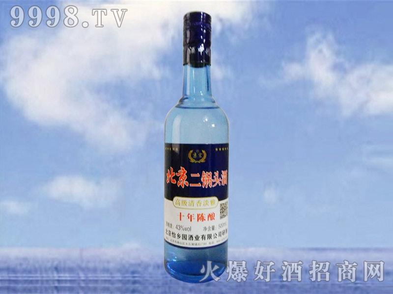 北京二锅头酒陈酿10四十三度500ml