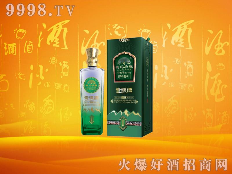 喜玛拉雅青稞酒绿宝石42度250mlx12瓶