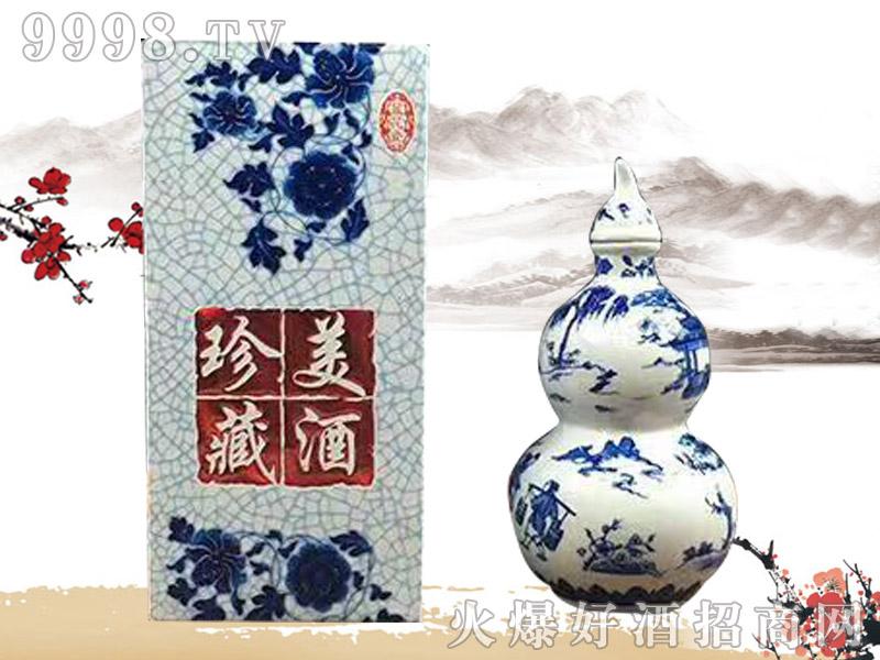 尊酱珍藏美酒葫芦(1斤)