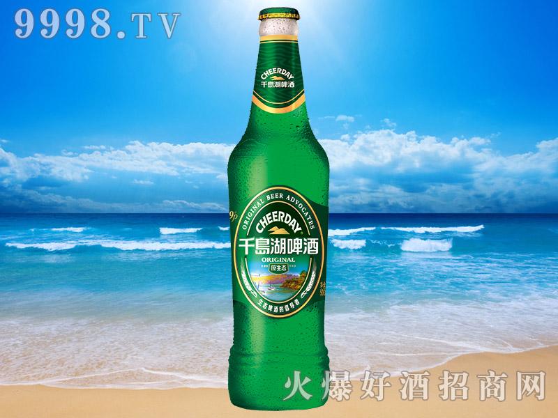 千岛湖啤酒原生态9度500ml