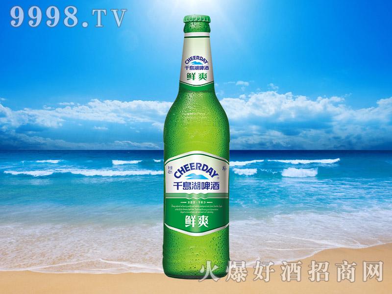 千岛湖啤酒鲜爽8度488ml