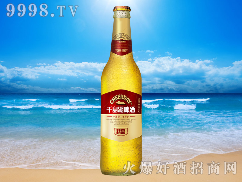 千岛湖啤酒精品7度480ml(红)