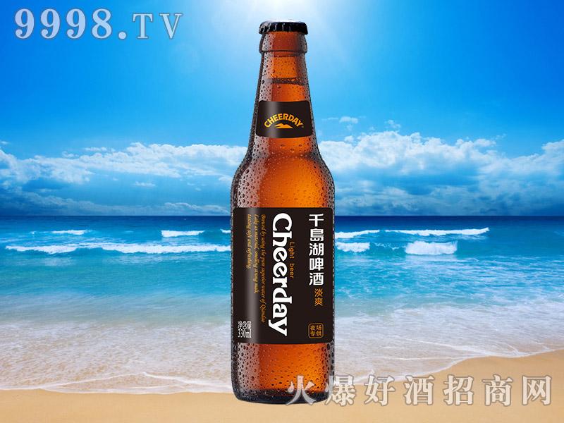 千岛湖啤酒淡爽7度330ml