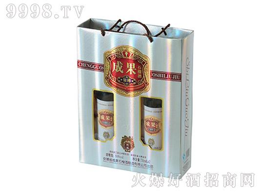 成果银樽石榴酒礼盒