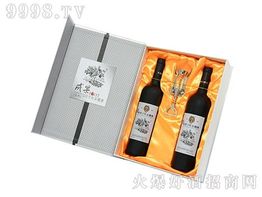 成果黑标石榴酒礼盒