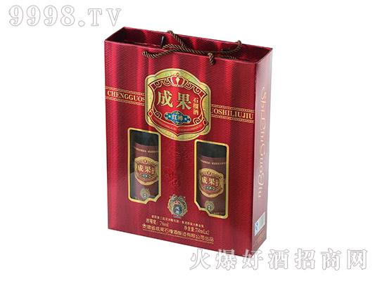 成果红樽石榴酒礼盒
