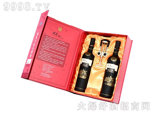 成果石榴酒大红礼盒