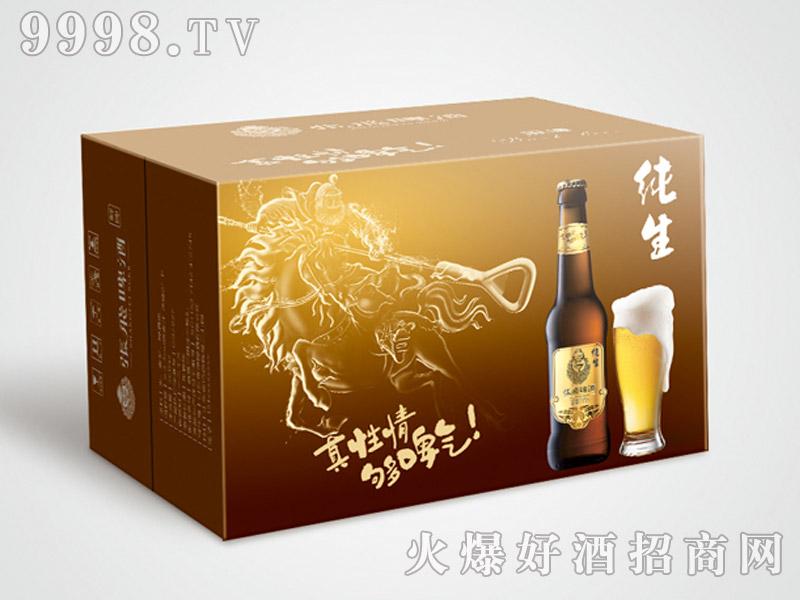 张飞纯生啤酒(小瓶)