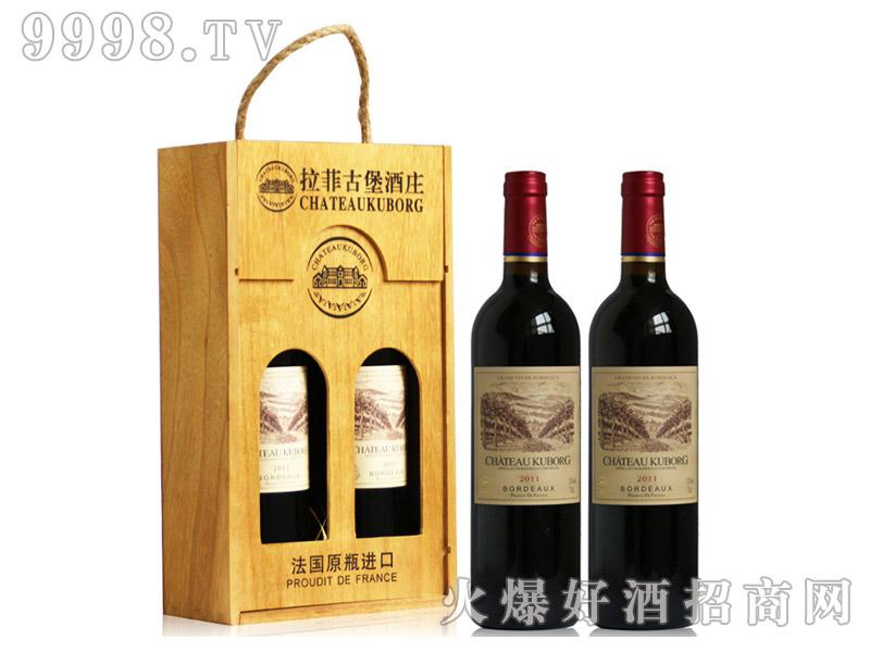 法国进口红酒2011拉菲古堡酒庄斯波朗干红葡萄酒