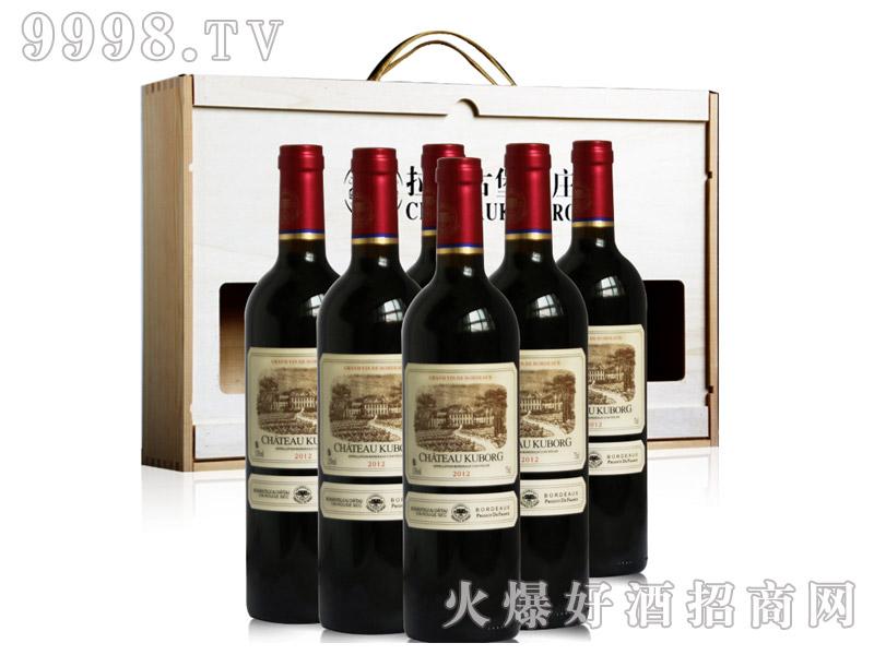 法国进口红酒拉菲古堡酒庄斯波朗干红葡萄酒