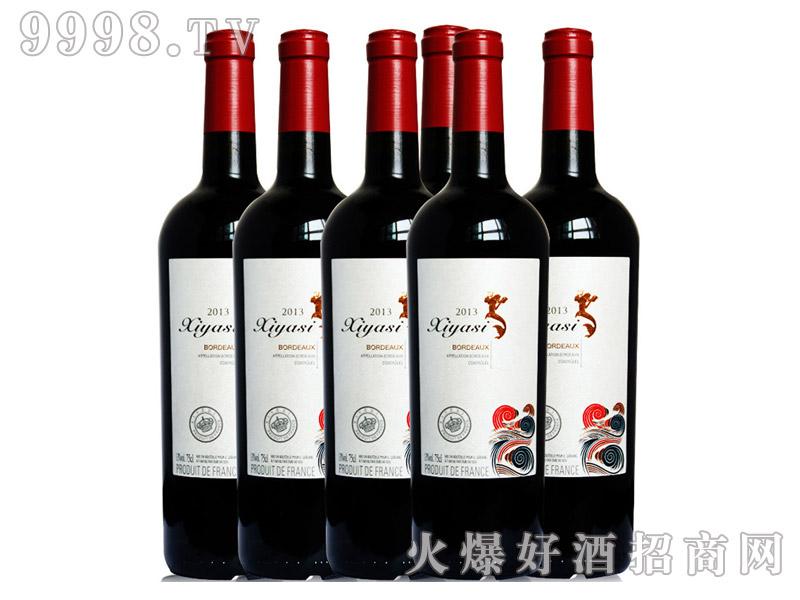 法国进口茜娅丝波尔多干红葡萄酒