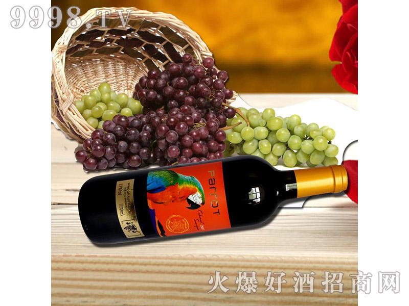 澳洲原瓶进口鹦鹉干红赤霞珠葡萄酒