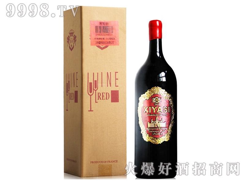 法国原瓶进口红酒13度十斤装茜娅丝干红葡萄酒-红酒招商信息