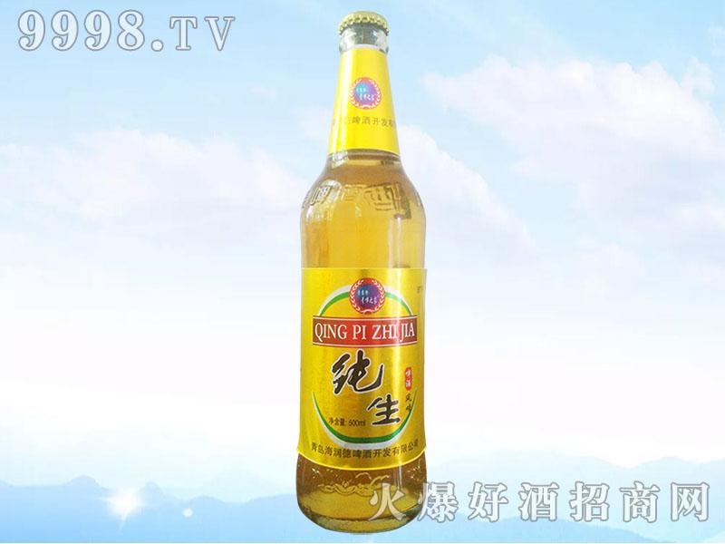 纯生啤酒风味8°500ml