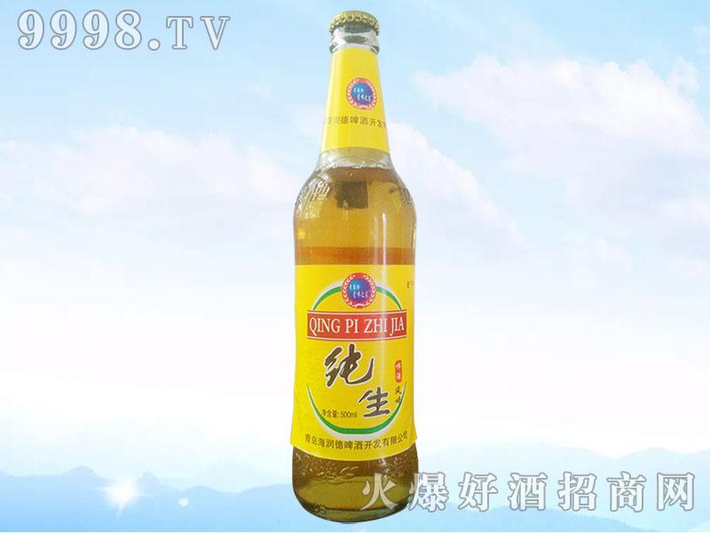 纯生啤酒8°500ml