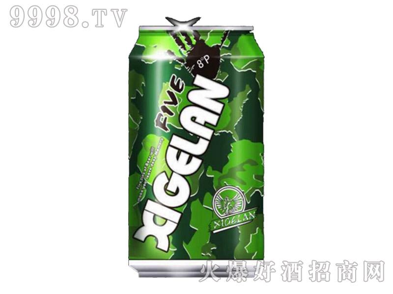 茜阁兰啤酒320Ml绿罐