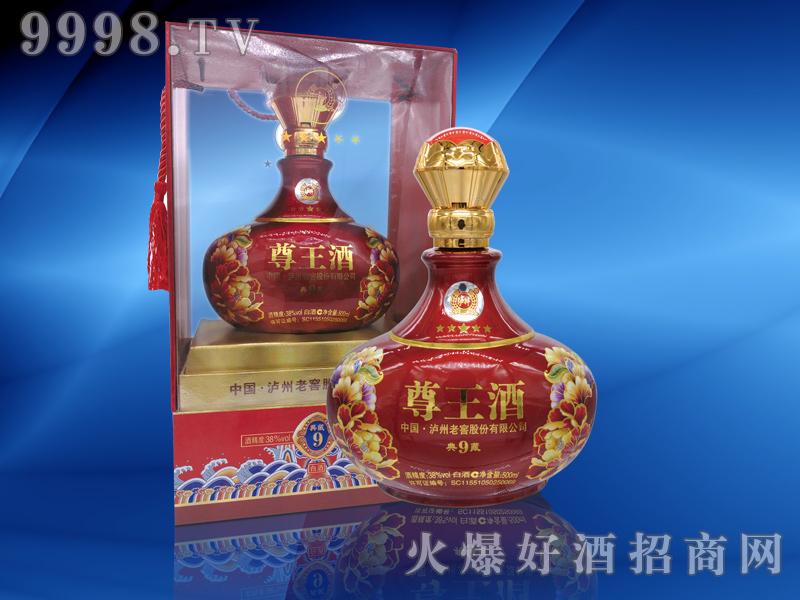 38度尊王酒典藏9-红