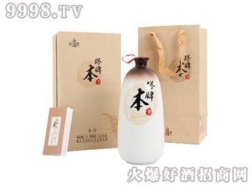 绍兴黄酒 塔牌本酒1L 无焦糖色的手工酿糯米黄酒礼盒装