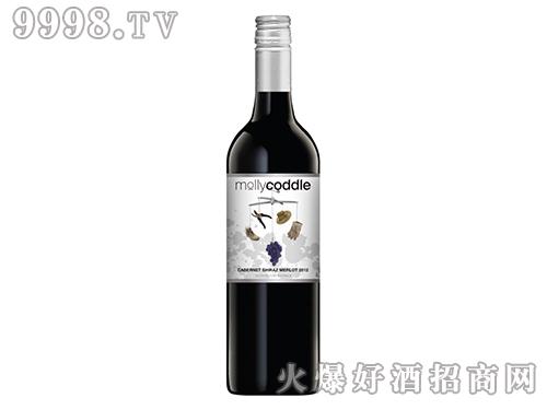 皇鹿驿站摩卡庄园赤霞珠西拉子美乐(混酿)红葡萄酒