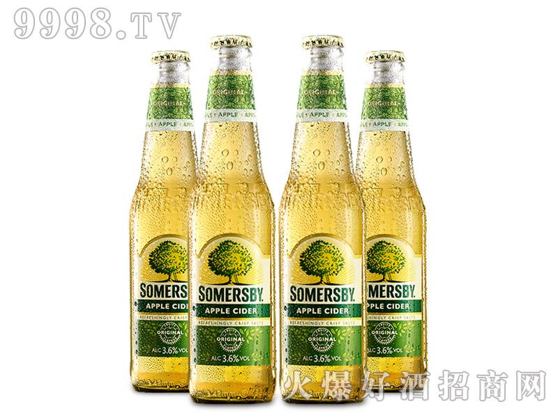 嘉士伯自然泡Somersby苹果汽酒瓶装330ml