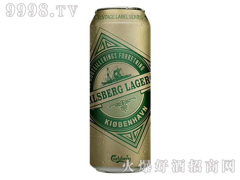嘉士伯复古限量啤酒500ml