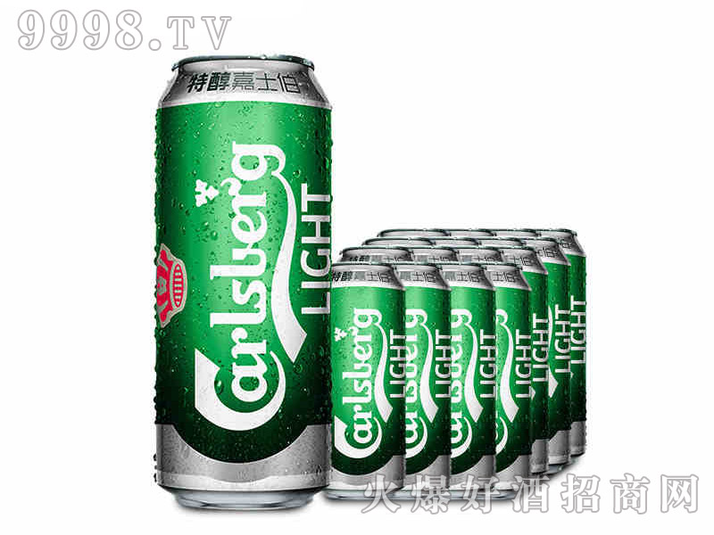 嘉士伯特醇啤酒500ml