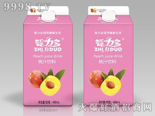智力多桃汁饮料488ml